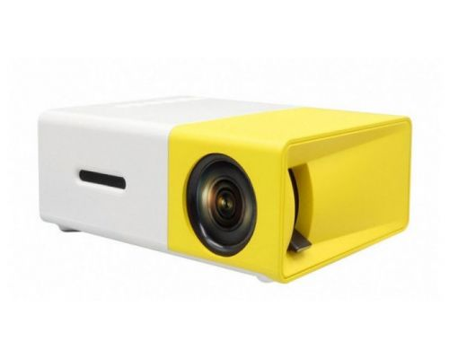 Мини проектор с динамиком LED YG-300 UTM Mini Yellow